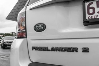 2014 Land Rover Freelander 2 LF MY15 TD4 CommandShift White 6 Speed Sports Automatic Wagon