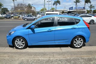 2019 Hyundai Accent RB6 MY19 Sport Blue 6 Speed Automatic Hatchback