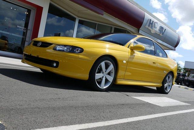 Used Holden Monaro V2 Series III CV8, 2004 Holden Monaro V2 Series III CV8 Rapid Yellow 4 Speed Automatic Coupe