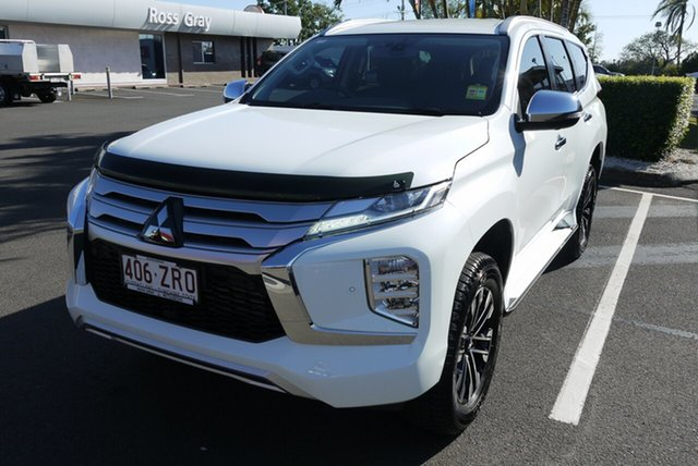 Demo Mitsubishi Pajero Sport QF MY20 Exceed, 2020 Mitsubishi Pajero Sport QF MY20 Exceed 8 Speed Sports Automatic Wagon