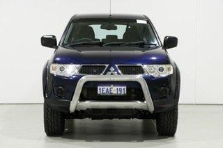 2012 Mitsubishi Challenger PB MY12 (4x2) Blue 5 Speed Automatic Wagon.