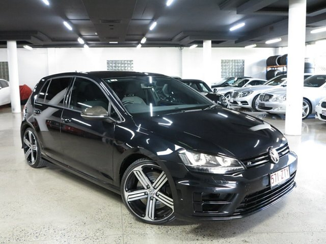 Used Volkswagen Golf VII MY16 R 4MOTION Albion, 2015 Volkswagen Golf VII MY16 R 4MOTION Black 6 Speed Manual Hatchback