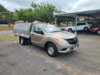 2012 Mazda BT-50 XT Gold 6 Speed Manual Utility.