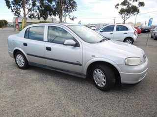 2003 Holden Astra TS MY03 City Silver 4 Speed Automatic Sedan.