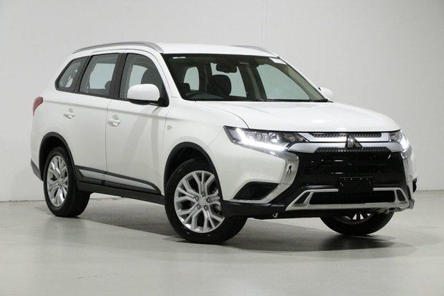 Used Mitsubishi Outlander ZL MY19 ES 7 Seat (AWD), 2019 Mitsubishi Outlander ZL MY19 ES 7 Seat (AWD) White Continuous Variable Wagon