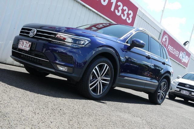 Used Volkswagen Tiguan 5N MY20 162TSI DSG 4MOTION Highline, 2019 Volkswagen Tiguan 5N MY20 162TSI DSG 4MOTION Highline Blue 7 Speed Sports Automatic Dual Clutch