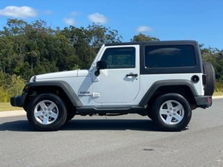 2015 Jeep Wrangler JK MY2015 Sport White 5 Speed Automatic Softtop