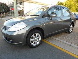 2008 Nissan Tiida C11 MY07 ST Silver 6 Speed Manual Sedan.