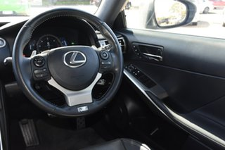 2016 Lexus IS GSE31R IS350 F Sport Grey 8 Speed Sports Automatic Sedan