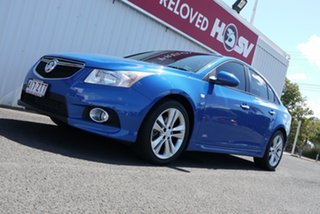 2014 Holden Cruze JH Series II MY14 SRi Z Series Blue 6 Speed Manual Sedan.