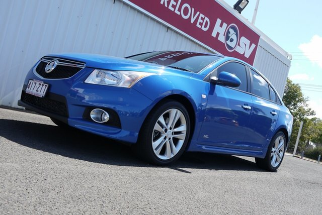 Used Holden Cruze JH Series II MY14 SRi Z Series Bundaberg, 2014 Holden Cruze JH Series II MY14 SRi Z Series Blue 6 Speed Manual Sedan