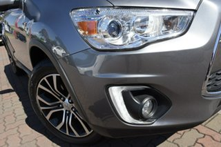 2015 Mitsubishi ASX XB MY15 XLS 2WD Silver 6 Speed Constant Variable SUV.