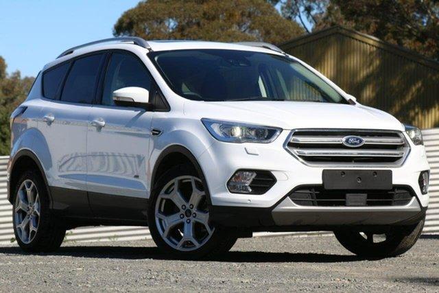 Used Ford Escape ZG 2018.00MY Titanium, 2018 Ford Escape ZG 2018.00MY Titanium White 6 Speed Automatic SUV
