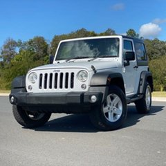 2015 Jeep Wrangler JK MY2015 Sport White 5 Speed Automatic Softtop.
