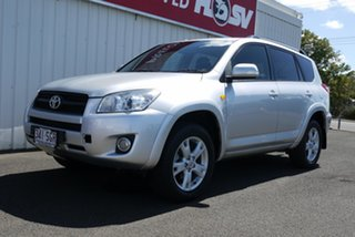 2012 Toyota RAV4 ACA33R MY12 Cruiser Silver 5 Speed Manual Wagon
