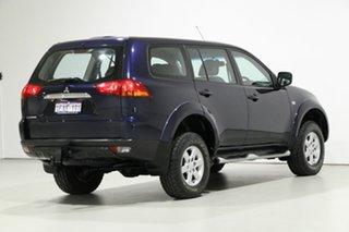 2012 Mitsubishi Challenger PB MY12 (4x2) Blue 5 Speed Automatic Wagon
