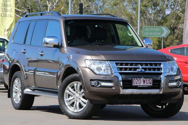 Used Mitsubishi Pajero NX MY16 Exceed, 2016 Mitsubishi Pajero NX MY16 Exceed Brown 5 Speed Sports Automatic Wagon