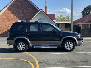 2007 Ford Escape ZC XLT Black 4 Speed Automatic SUV.