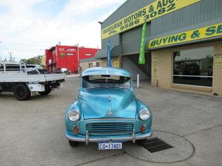1958 Morris Minor - - Blue 4 Speed Manual Sedan.