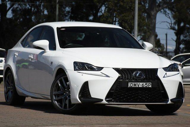 Used Lexus IS ASE30R IS200t F Sport, 2017 Lexus IS ASE30R IS200t F Sport White 8 Speed Sports Automatic Sedan