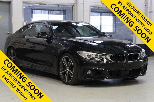 Used BMW 435i F32 MY15 , 2016 BMW 435i F32 MY15 Black 8 Speed Automatic Coupe