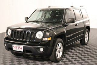 2015 Jeep Patriot MK MY16 Limited Black 6 speed Automatic Wagon.