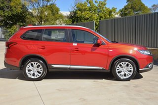 2020 Mitsubishi Outlander ZL MY20 ES 2WD Red 6 Speed Constant Variable Wagon.