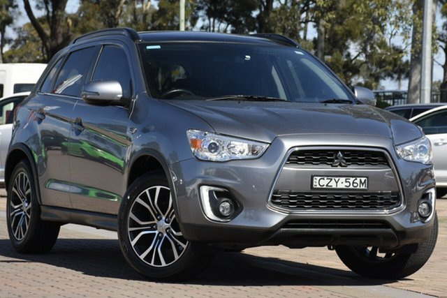 Used Mitsubishi ASX XB MY15 XLS 2WD, 2015 Mitsubishi ASX XB MY15 XLS 2WD Silver 6 Speed Constant Variable SUV
