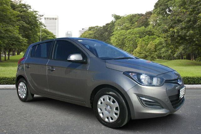 Used Hyundai i20 PB MY14 Active, 2013 Hyundai i20 PB MY14 Active Grey 4 Speed Automatic Hatchback