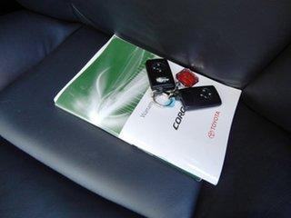 2009 Toyota Corolla ZRE152R Ultima Silver 4 Speed Automatic Sedan
