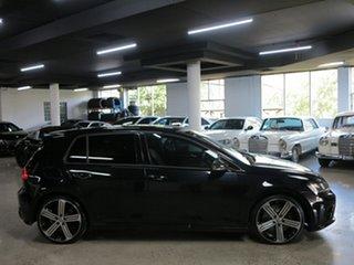 2015 Volkswagen Golf VII MY16 R 4MOTION Black 6 Speed Manual Hatchback