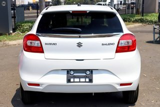 2020 Suzuki Baleno EW Series II GL White 4 Speed Automatic Hatchback.