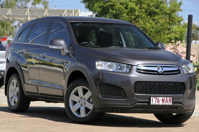 Used Holden Captiva CG MY15 7 LS, 2015 Holden Captiva CG MY15 7 LS Grey 6 Speed Sports Automatic Wagon