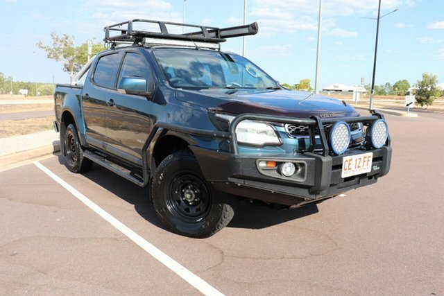 Used Holden Colorado RG MY13 LT Crew Cab, 2013 Holden Colorado RG MY13 LT Crew Cab Blue 6 Speed Automatic Crew Cab P/Up