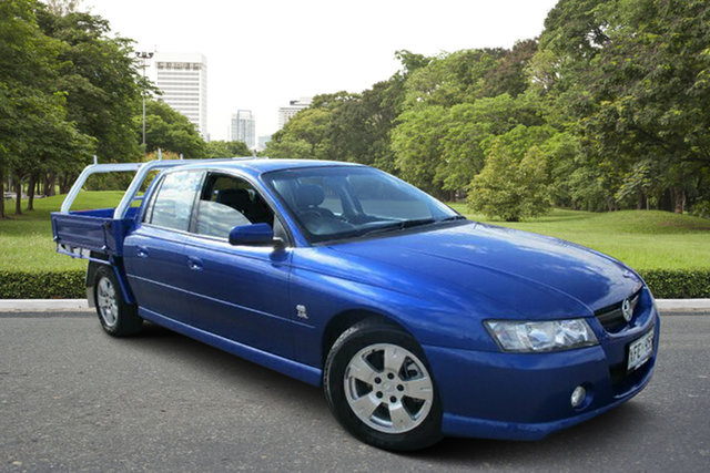 Used Holden Crewman VZ S, 2005 Holden Crewman VZ S Blue 4 Speed Automatic Utility