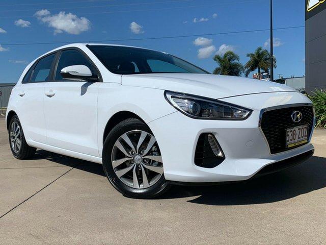 Used Hyundai i30 PD2 MY20 Active, 2019 Hyundai i30 PD2 MY20 Active White 6 Speed Sports Automatic Hatchback