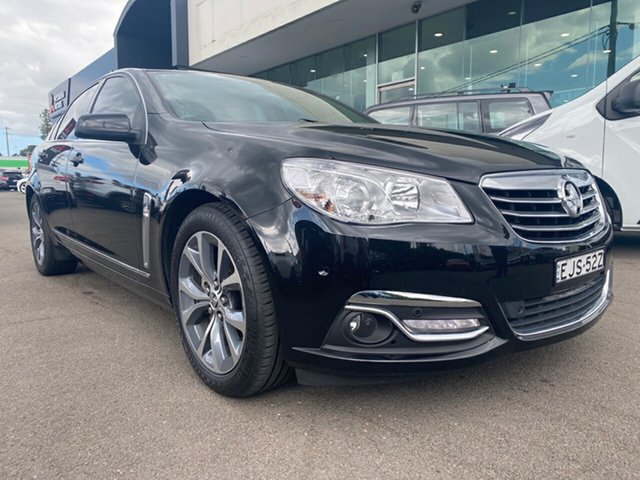 Used Holden Calais VF MY14 , 2014 Holden Calais VF MY14 Black 6 Speed Sports Automatic Sedan