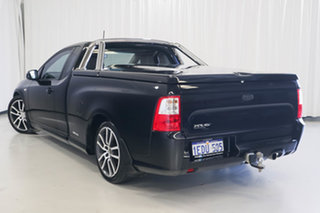 2011 Ford Falcon FG XR6 Ute Super Cab Limited Edition Black 6 Speed Sports Automatic Utility.
