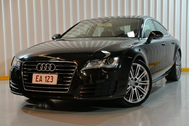 Used Audi A7 4G Sportback S Tronic Quattro, 2011 Audi A7 4G Sportback S Tronic Quattro Black 7 Speed Sports Automatic Dual Clutch Hatchback