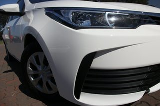 2017 Toyota Corolla ZRE172R Ascent S-CVT White 7 Speed Constant Variable Sedan.