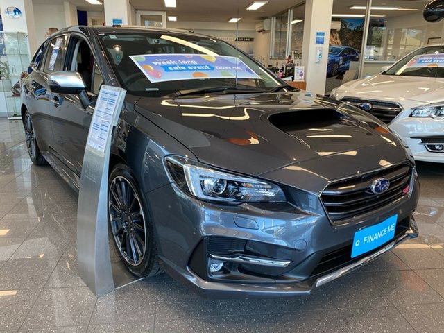 New Subaru Levorg V1 MY20 2.0 STI Sport CVT AWD, 2020 Subaru Levorg V1 MY20 2.0 STI Sport CVT AWD Magnetite Grey 8 Speed Constant Variable Wagon
