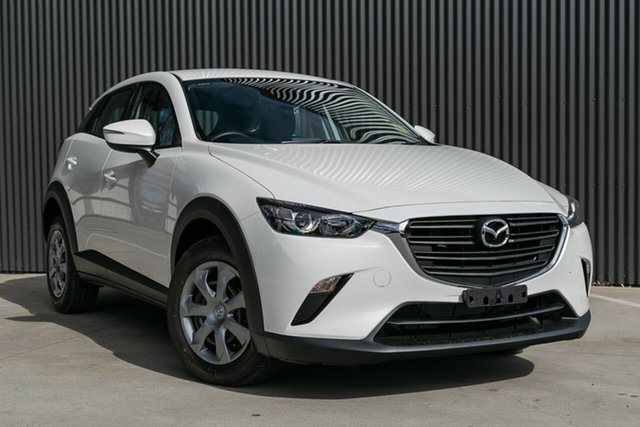 New Mazda CX-3 DK2W7A Neo SKYACTIV-Drive FWD Sport, 2020 Mazda CX-3 DK2W7A Neo SKYACTIV-Drive FWD Sport Snowflake White Pearl 6 Speed Sports Automatic