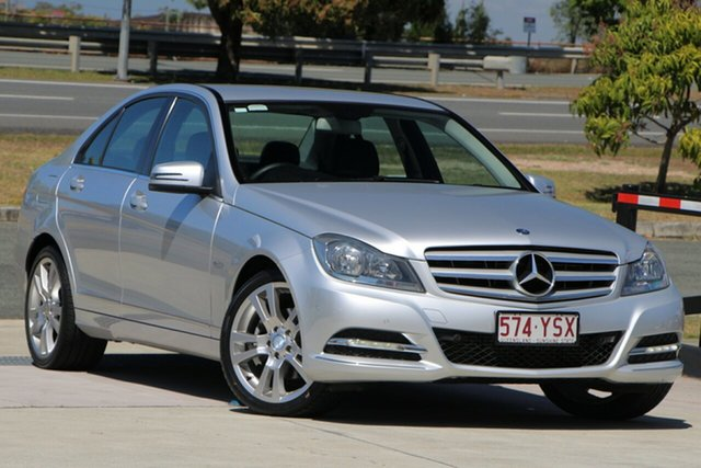 Used Mercedes-Benz C-Class W204 MY12 C250 CDI BlueEFFICIENCY 7G-Tronic + Avantgarde, 2012 Mercedes-Benz C-Class W204 MY12 C250 CDI BlueEFFICIENCY 7G-Tronic + Avantgarde Silver 7 Speed