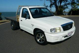 2005 Mazda Bravo B2600 DX 4x2 White 5 Speed Manual Cab Chassis.