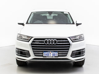 2016 Audi Q7 4M 3.0 TDI Quattro White 8 Speed Automatic Tiptronic Wagon.