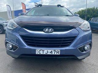 2014 Hyundai ix35 Blue Wagon.