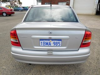 2003 Holden Astra TS MY03 City Silver 4 Speed Automatic Sedan