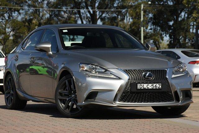 Used Lexus IS GSE31R IS350 F Sport, 2016 Lexus IS GSE31R IS350 F Sport Grey 8 Speed Sports Automatic Sedan