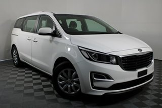 2018 Kia Carnival YP MY19 S White 8 Speed Sports Automatic Wagon.