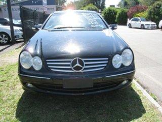 2003 Mercedes-Benz CLK240 C209 Elegance Black 5 Speed Auto Touchshift Coupe.